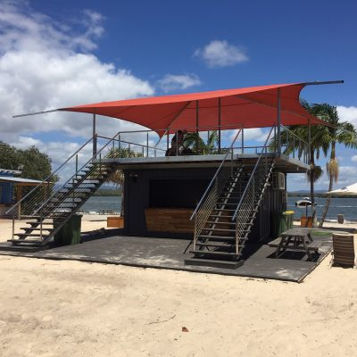 STRADBROKE ISLAND BEACH BAR - DECKER DESIGN GRAPHITE