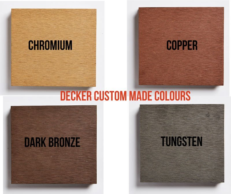 Custom made colours for other DECKER Products