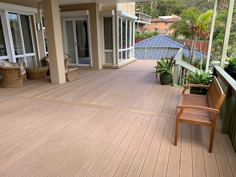 PERLABOARD DORATO CENTRAL COAST WIDE ANGLE VIEW INSTALLED