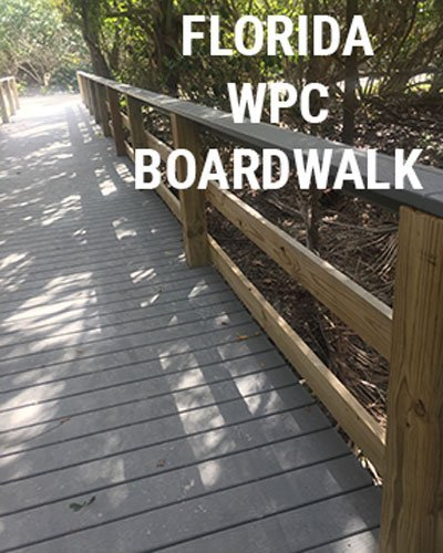 WPC Boardwalk in Florida
