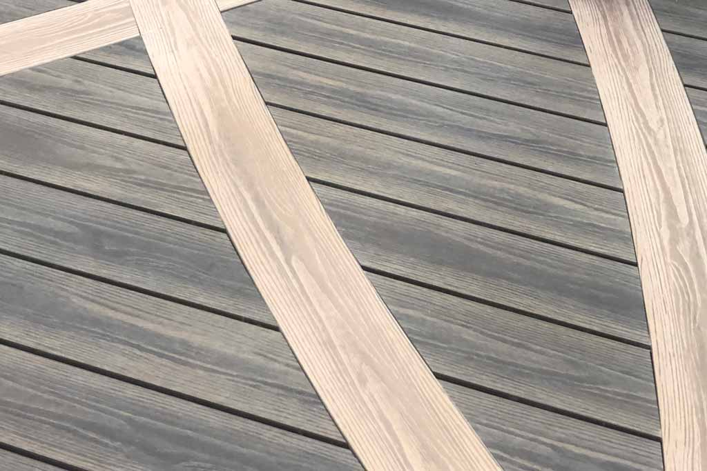 PERLABOARD curved decking